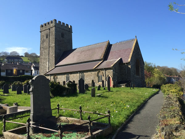 south east view and graveyard