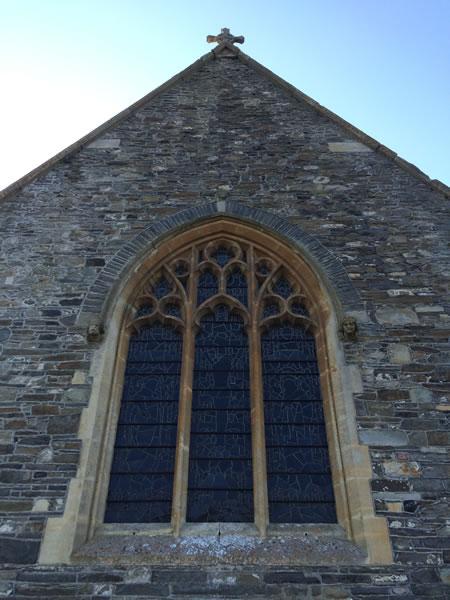 east window